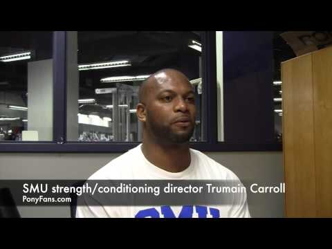 SMU Strength & Conditioning Director Trumain Carroll