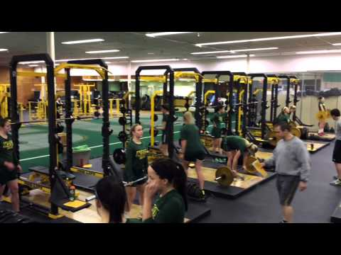 NDSU Women's Soccer Offseason Workout