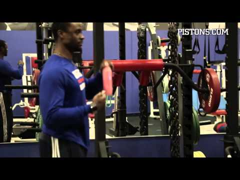 Detroit Pistons Strength & Conditioning Coach Anthony Harvey