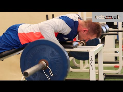 S&C Session with England Cricket Star Alex Hales