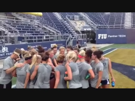 FIU Swim & Dive Weight Room Pump up Video