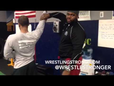 Wrestling: DB hang cleans & Hammer curls are important because
