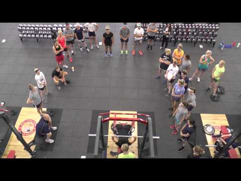 Women's National Team Off-Ice Training Camp: S&C Session