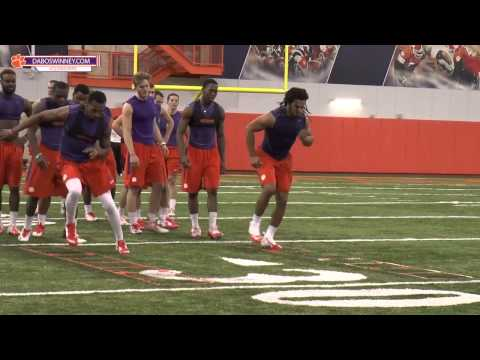 Clemson Football Spring 2015 Strength & Conditioning