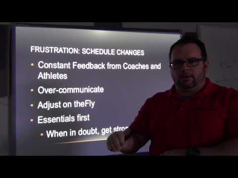 Communication Strategies with Sports Coaches & Parents
