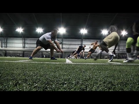 Georgia Tech Football Offseason Workout Session