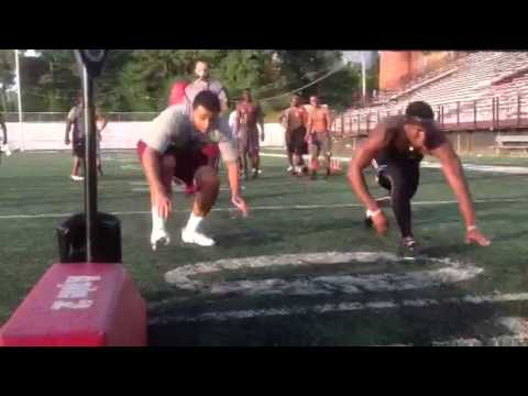 NCCU Football Strength & Conditioning - Summer 2015