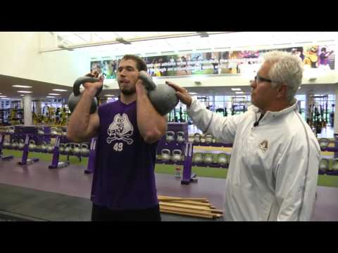 ECU Assistant AD for Strength & Conditioning Jeff Connors and IWR Brian Hardy
