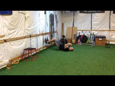 Develop Hamstring strength with the TRX Bridge