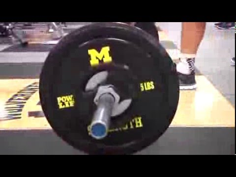Michigan Lacrosse Fall Strength And Conditioning Video