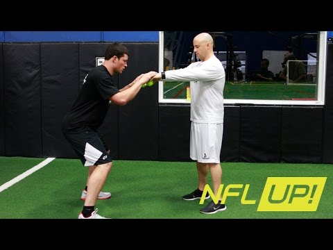 Luke Kuechly's tennis ball circuit workout