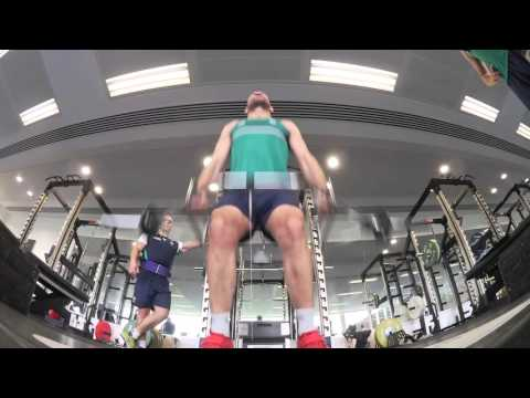 Irish Rugby TV: Ireland Forwards In The Gym