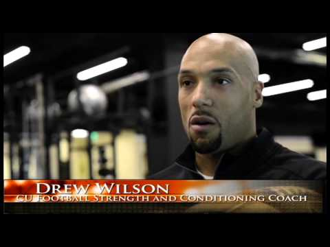 Colorado Football Strength and Conditioning Coach Drew Wilson