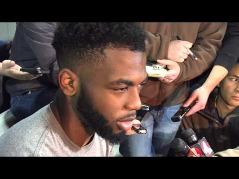 J.T. Barrett on Winter Workouts