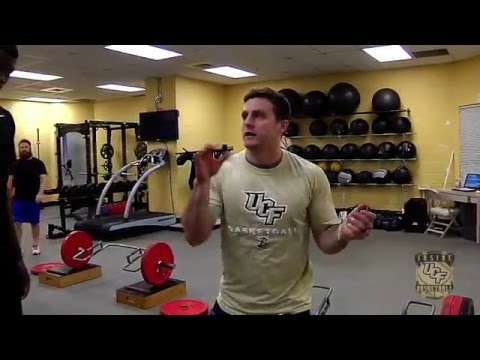S&C Coach for UCF Men's Basketball, Gets Mic'd