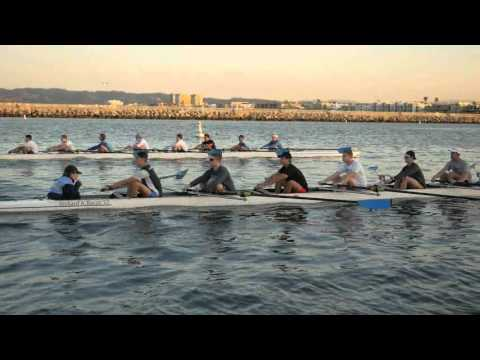 UCLA Rowing Winter Workout at Oh-Dark Thirty