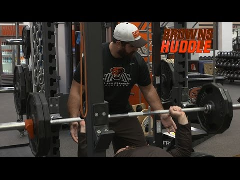 Browns Huddle: Strength Staff Takes New Approach