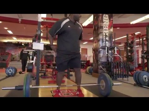 Mic'd Up with NC State's Football Strength & Conditioning Coach Dantonio Burnette