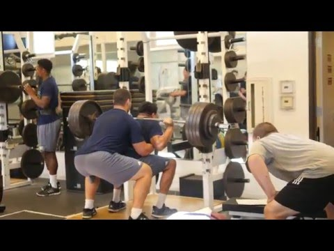 Mic'd up w/ UC Davis Aggie Strength & Conditioning Episode 3