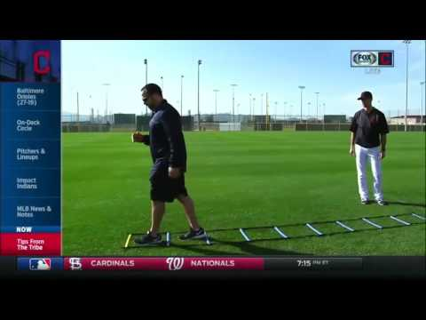 Cleveland Indians Strength & Conditioning Coach Joe Kessler teaches how to run the ladders