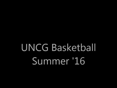 UNCG Men's Basketball Summer Lifting