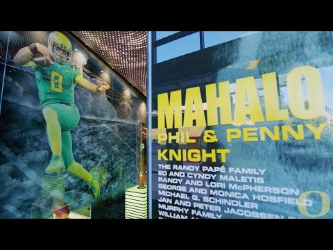 Checkout Oregon's Marcus Mariota Sports Performance Center