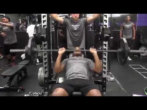 ACU Football | Weight Room