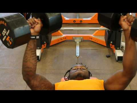 ASAP @ Tennessee VOLS Football: 100lb DB Chest Press