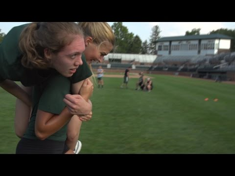 Michigan State Volleyball Pre-Season Training with The Program