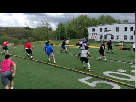 Game Speed drill crossover