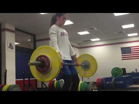 American University Women's Basketball - Strength & Power Training