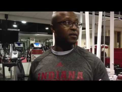 Je'Ney Jackson, IU strength and conditioning coach for basketball