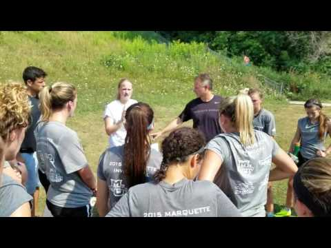Marquette Women's Soccer: 2016 Preseason Training - Day 1