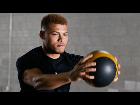Tyrann Mathieu's Intense Lateral Quickness, Balance, & Strength Workouts