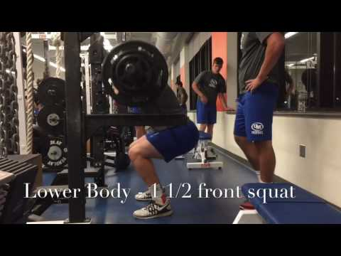 U Mary Football Development Lift