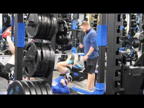 Feature on Strength and Conditioning Coach at Hillsdale College