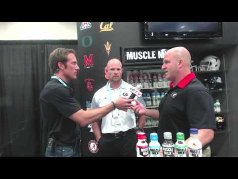 Georgia Football Strength & Conditioning Coaches Ed Ellis and Scott Sinclair
