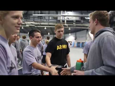 UNC Men's Lacrosse: Conditioning With Army ROTC