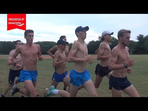Georgetown Men XC Ladder Workout