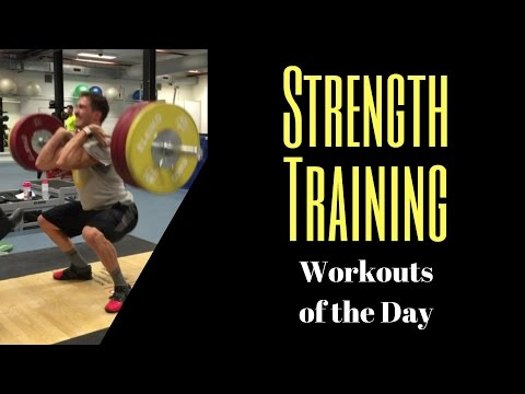 Strength Training video BMX - Strength training workouts of the day - Strength Training for BMX