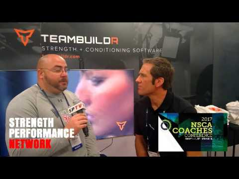 Interview with Strength Coach Tobias J. Jacobi at 2017 NSCA Coaches Conference
