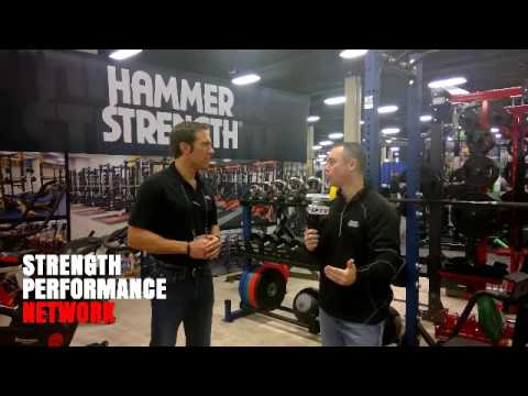 Lon Record talks about Hammer Strength Clinics at the 2017 NSCA Coaches Conference
