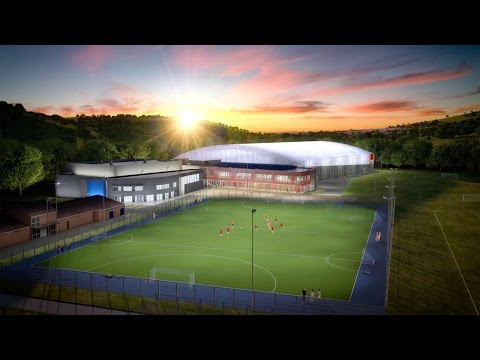 USW Sport Park Flythrough - University of South Wales
