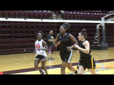 Winthrop Women's Basketball Clock is Running