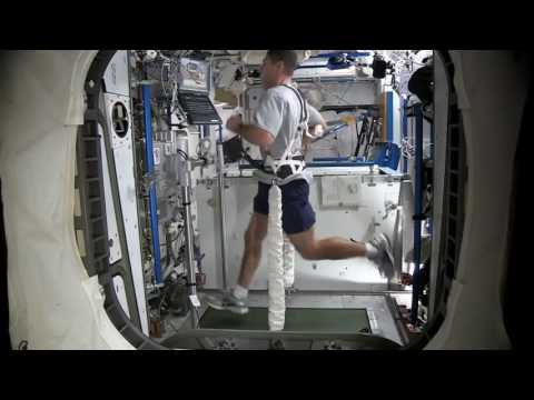 Astronaut Mike Hopkins: Workout in Space 2