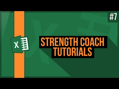 Strength Coach Tutorials #7 - Build Your First Program Template