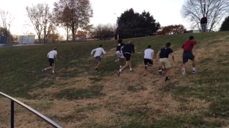 Wake Forest Men's Tennis Conditioning (4 of 4 - 12/2/16)