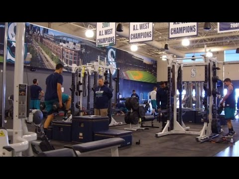 A look inside the Seattle Mariners weight room