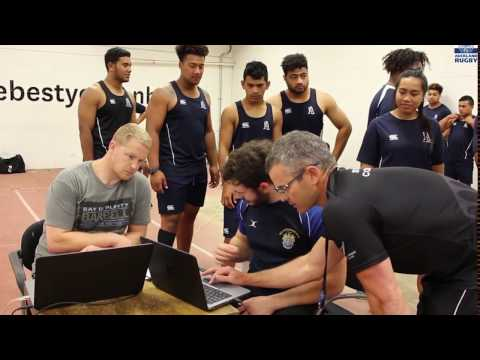 Auckland Rugby: Sprint testing at Millennium Institute
