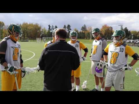 Siena Men's Lacrosse Fall Workout Video